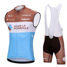Equipación ciclismo Corta AQUABLUE 2018