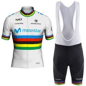 Equipación ciclismo MOVISTAR Campeón del mundo 2018