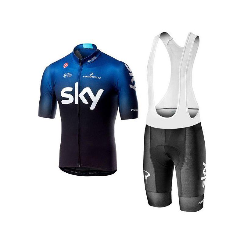Equipación ciclismo SKY 2019