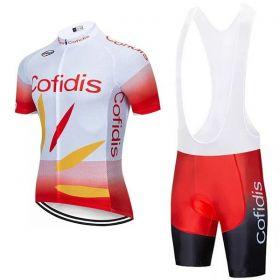 Equipación ciclismo COFIDIS 2019