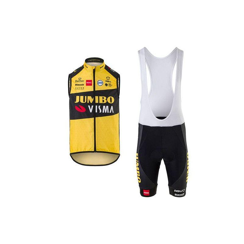 Equipación ciclismo JUMBO 2020