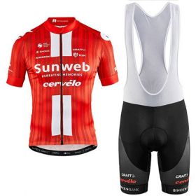Equipación ciclismo SUNWEB CERVELO 2020