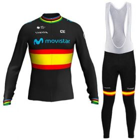 Equipacion Cilclismo Larga MOVISTAR 2020