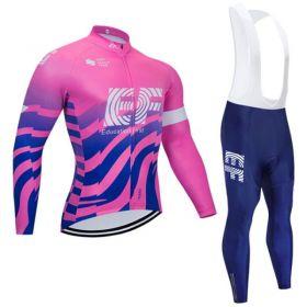 Equipación ciclismo EF EDUCATION FIRST 2020 Termica Hombre