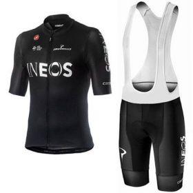 """Equipación ciclismo INEOS 2020 Corta Hombre """"sin tirantes"""" OUTLET"""