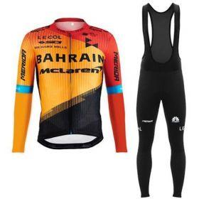 Equipación ciclismo Mclaren 2020 Termica Hombre