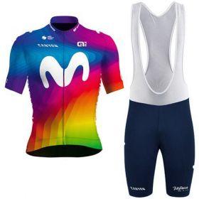 Equipación ciclismo MOVISTAR 2020 Corta Hombre OUTLET