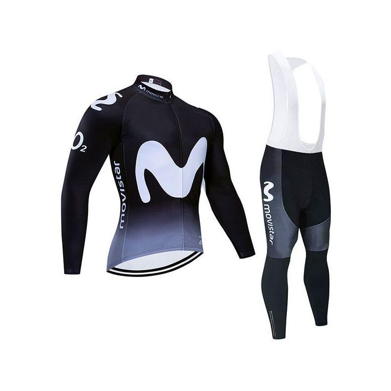 Equipación ciclismo MOVISTAR 2020 Termica HOMBRE OUTLET