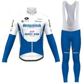 Equipación ciclismo QUICK STEP 2021 Térmico hombre OUTLET