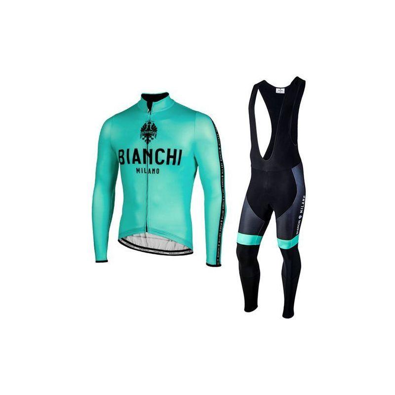 Equipación ciclismo BIANCHI 2021 Térmico MUJER OUTLET