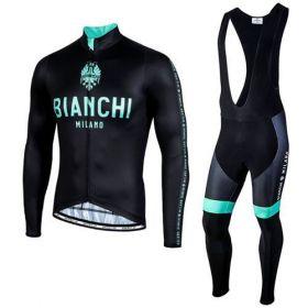 Equipación ciclismo BIANCHI 2021 Térmico hombre OUTLET