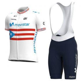 Equipación ciclismo MOVISTAR 2021