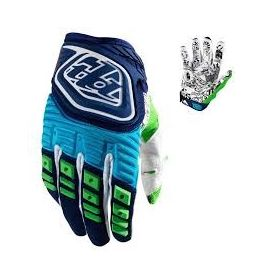 Troy Lee Designs Guante Azul/verde