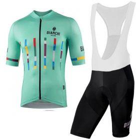Equipación ciclismo BIANCHI 2021 Corta MUJER OUTLET