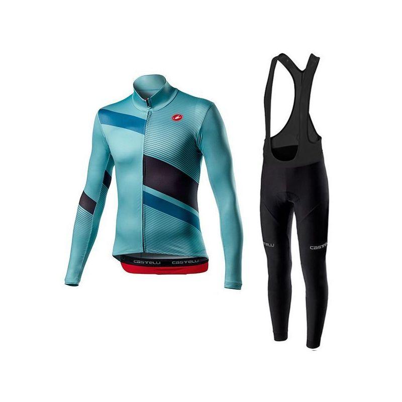Equipación ciclismo BIANCHI 2021 NO Térmico mujer OUTLET
