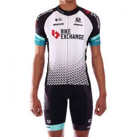 Equipación ciclismo BIKE EXCHANGE 2021 Corta Hombre OUTLET