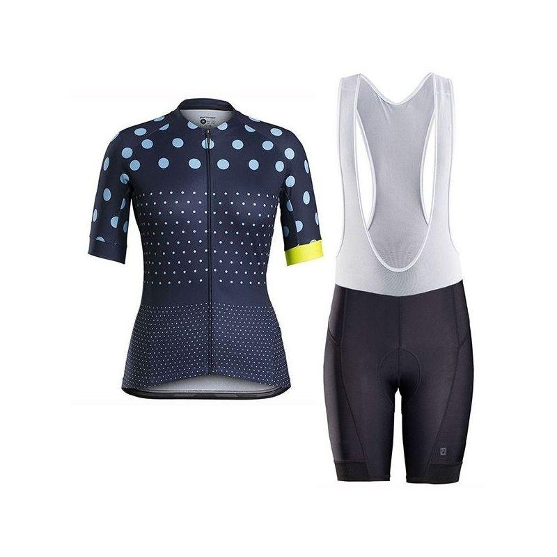 Equipación ciclismo TREK 2021 Corta Mujer OUTLET