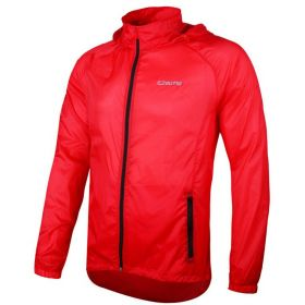 Chaqueta impermeable Outto blanca
